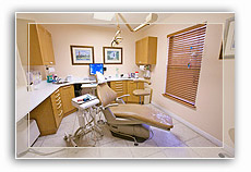 Southport Dental Care Exam Room